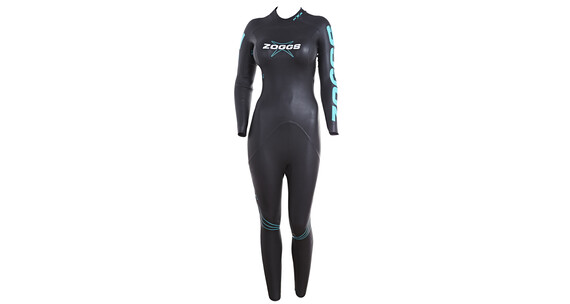 Zoggs FX3 Wetsuit Women Black/Light Blue